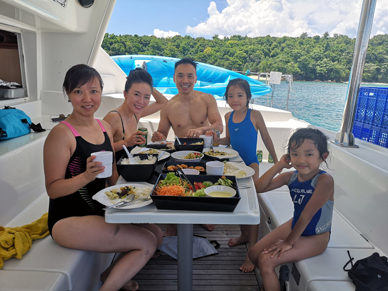 Enjoy fresh cooked lunch on your Private Day Trip Phuket