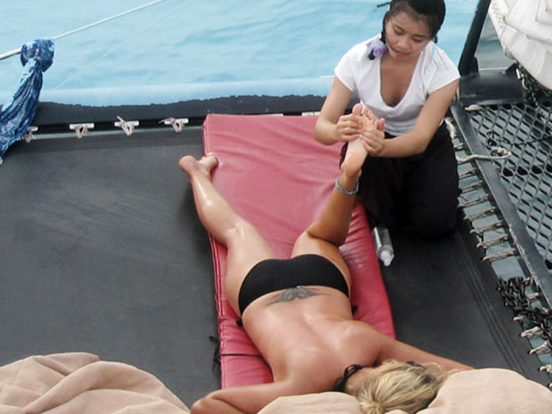 Thai Massage Service available on Phuket Private Daty Trip